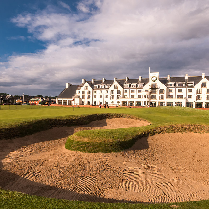 Carnoustie<br /> Golf Links –<br /> The Championship Course