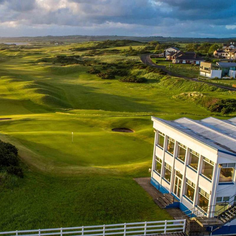 Castlerock<br /> Golf Club -Mussenden Links
