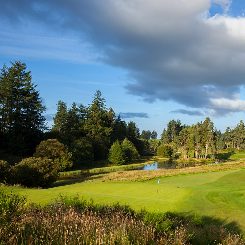 Gleneagles<br /> – The Queen's<br /> Course