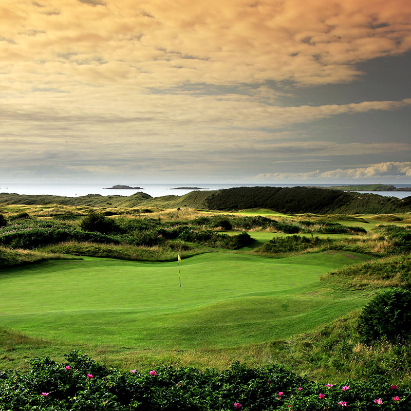 Royal Portrush<br /> Golf Club -<br /> The Dunluce Links