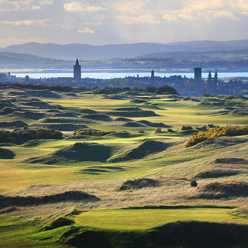 St Andrews Links<br /> – The Castle Course